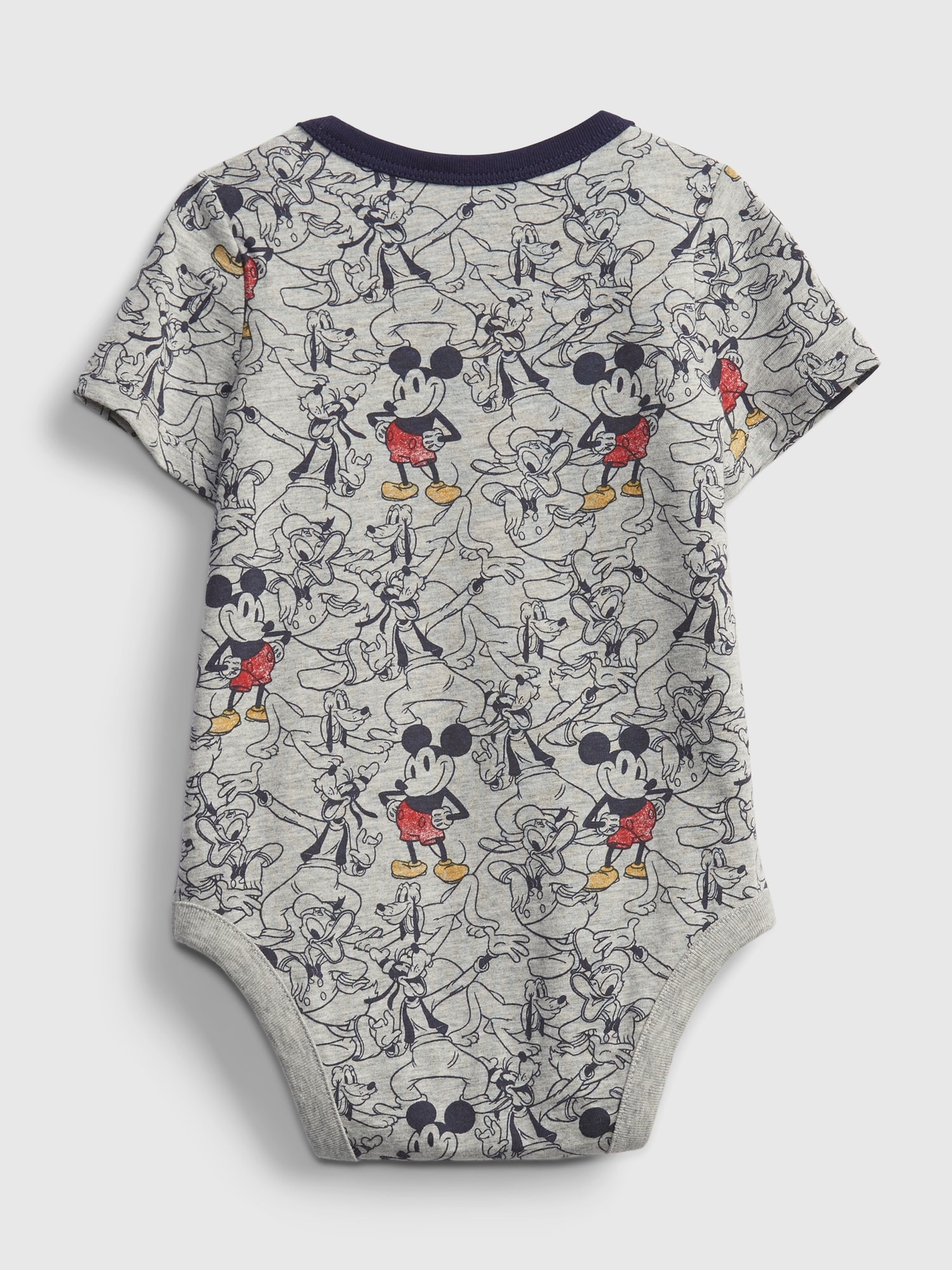 Baby body Disney Mickey Mouse organic mix and match bodysuit (2)