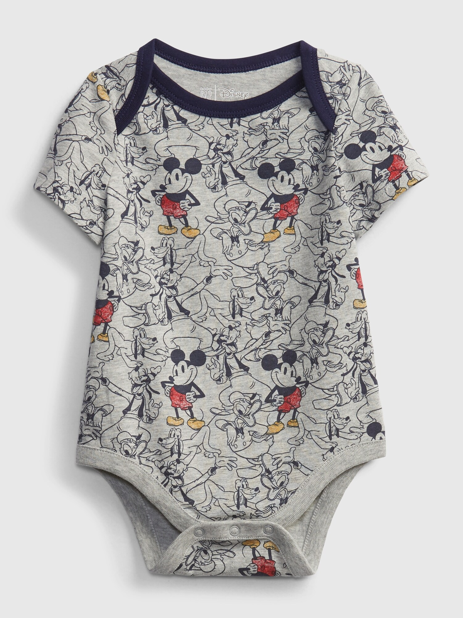 Baby body Disney Mickey Mouse organic mix and match bodysuit (1)