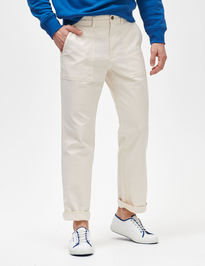 Kalhoty utility pants in straight fit with GapFlex