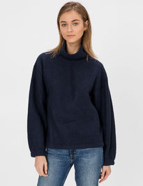 Mikina fleece turtleneck sweatshirt