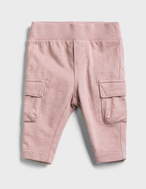 Baby tepláky cargo pull-on pants