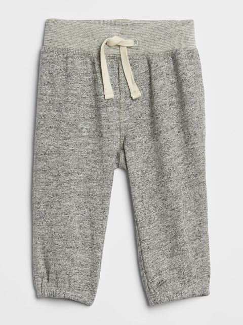Baby tepláky marled pull-on pants