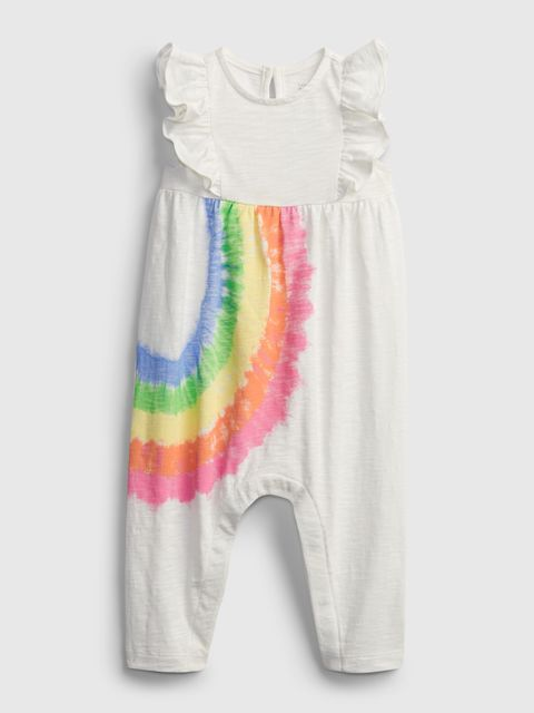 Baby overal rainbow one-piece