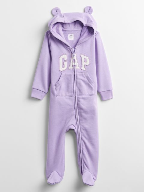 Baby overal GAP Logo hoodie one-piece