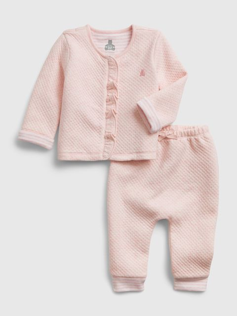Baby set quilted outfit