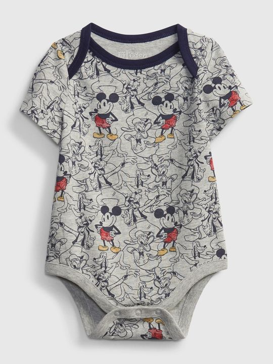 Baby body Disney Mickey Mouse organic mix and match bodysuit