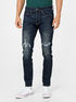 Džíny mid rise distressed skinny with GapFlex (1)